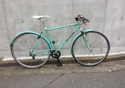 「【いじる】15年前のビアンキのクロスバイクをシングル化 その1」のアイキャッチ画像