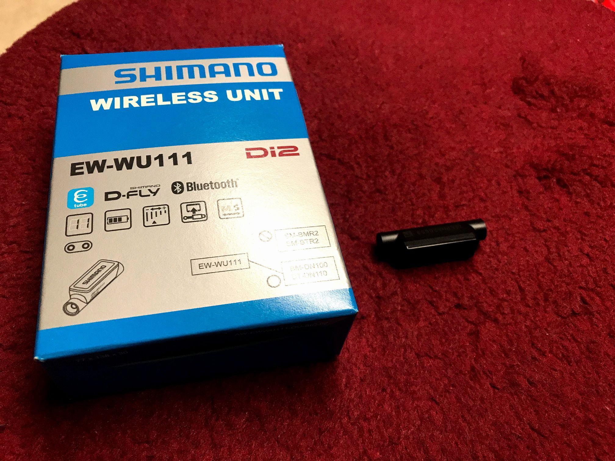 「【またもファーム更新できず】Di2 Bluetooth対応ワイヤレスユニット(EW-WU111)の不具合 その2」のアイキャッチ画像